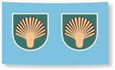 U 505 Shell Insignia decal