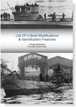 List Of U-Boat Modifications & Identification Features