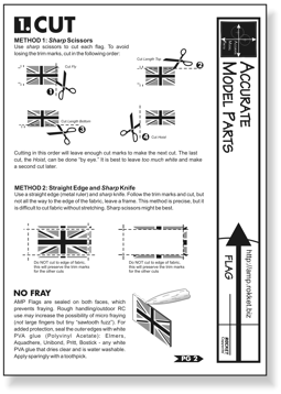 flag instructions