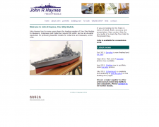 Fine Ship Models to Museums, Companies and Collectors